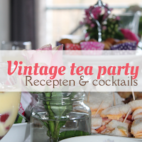 Vintage tea party - recepten en cocktails
