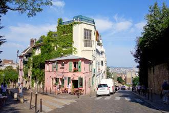 Paris : La Maison Rose à Montmartre, petite histoire et grands artistes - 2 rue de l'Abreuvoir - XVIIIème
