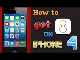 Cara Upgrade iPhone 4 ke iOS 8