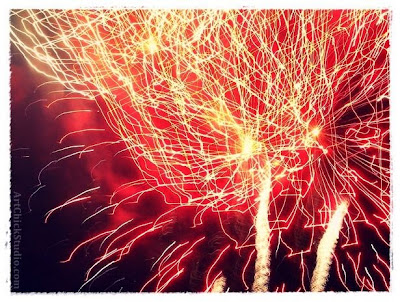 Fireworks Digital Art