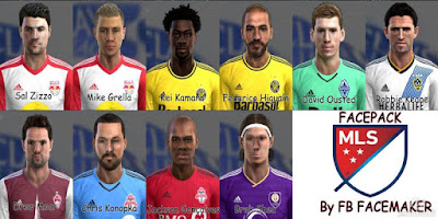 Mix Facepack MLS Pes 2013
