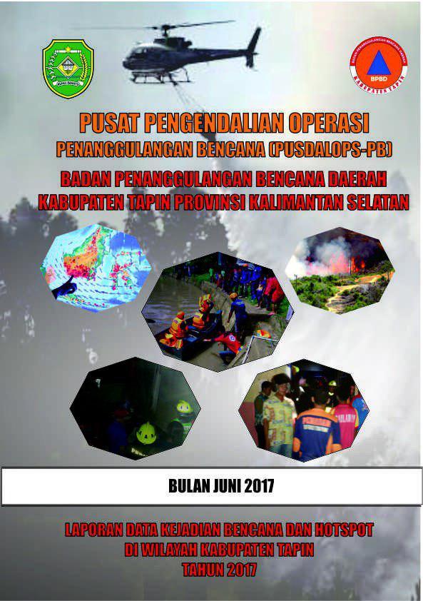 Laporan Bulanan Kejadian Bencana Dan Titik Hospot Di Kabupaten Tapin Ub Juni 2017 Website Resmi Bpbd Kabupaten Tapin