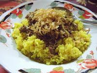 Resep Bumbu Nasi Kuning