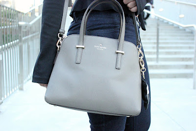 Kate Spade Grey Maise Cross Body Outfit Inspiration