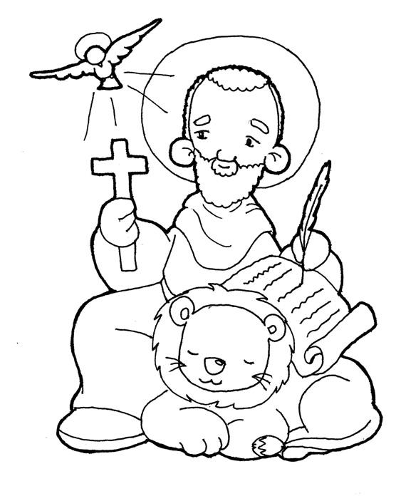Dibujos Para Catequesis San Marcos Evangelista