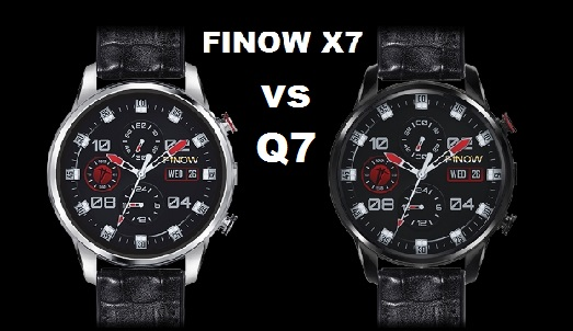 Finow X7 Vs Finow Q7 SmartWatch