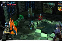 Lego Batman DC Super Heroes Apk Data Lite