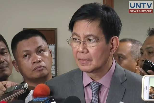 LACSON: UNFAIR TO ACCUSE PNP OF BRUTALITY OVER US EMBASSY DISPERSAL