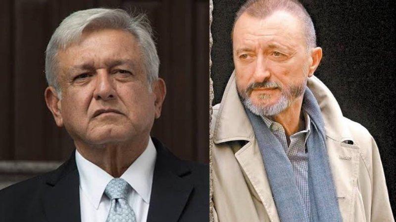 """Pérez Reverte actor español de """"La Reinsa del Sur"""" llama """"imb3cil"""" a AMLO y le exige que se disculpe"""