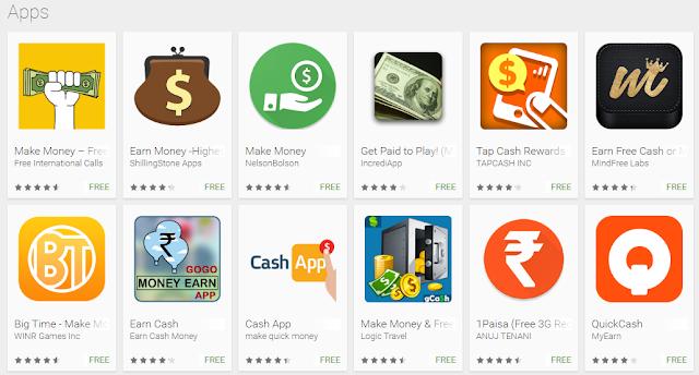 make money online free apps