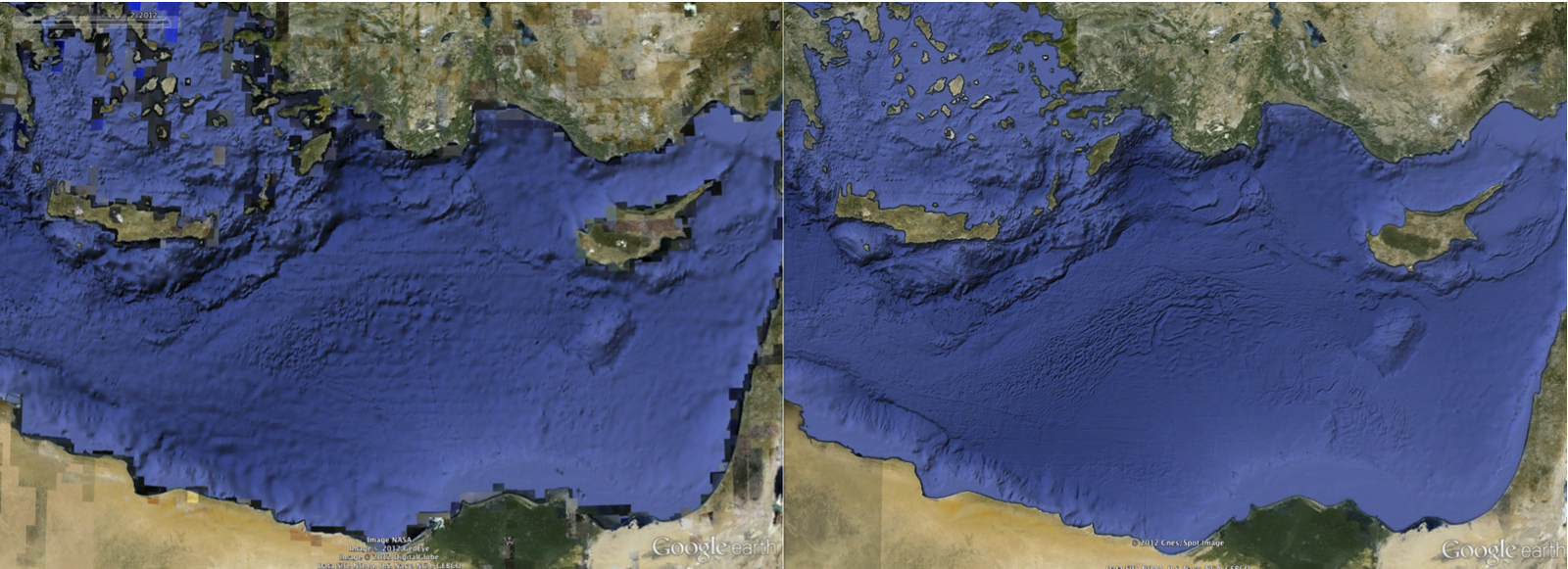 A Clearer View Of The Seafloor In Google Earth
