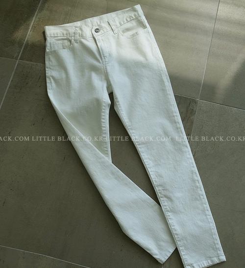 Cotton-Blend Cropped Pants