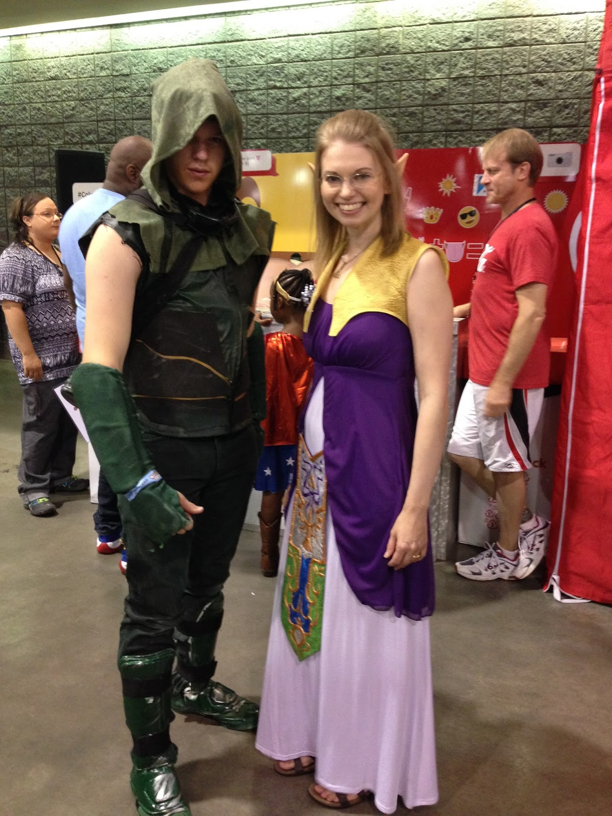 princess zelda costume | zelda twilight princess  sc 1 st  The Free Motion Quilting Project & The Free Motion Quilting Project: Amazing Time at Hero Con!