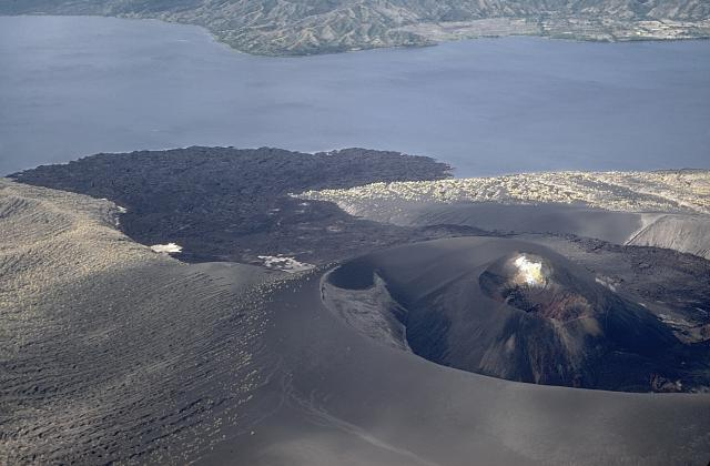 Tabaro crater after 1968