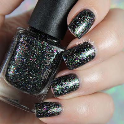 Grace-Full Nail Polish Rainbow Explosion | Rainbow Sparklers Collection