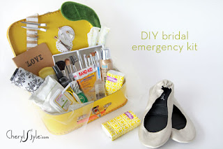 Bride Emergency Kit Gift shower cherylstyle