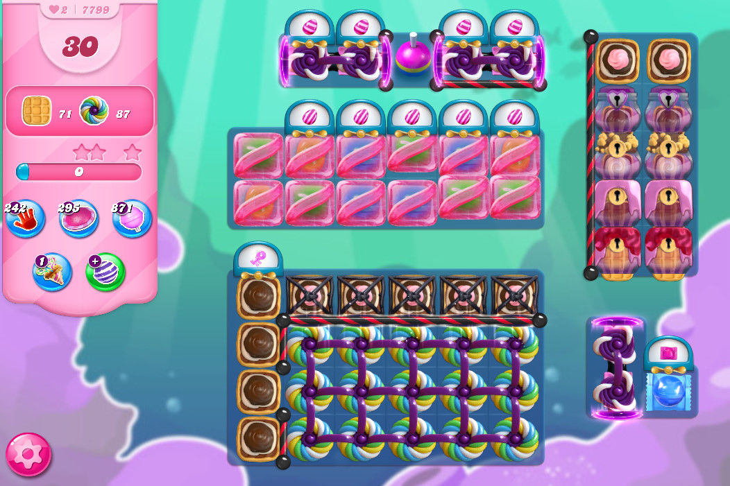Candy Crush Saga level 7799
