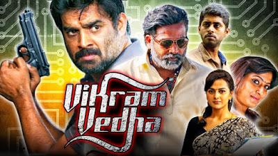 Vikram Vedha 2018 Hindi Dubbed 720p WEBRip 950mb x264