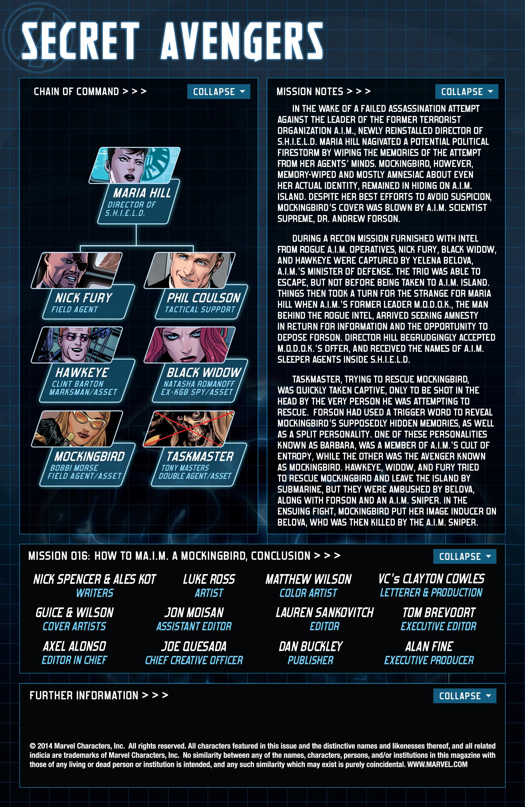 Read online Secret Avengers (2014) comic -  Issue #16 - 2