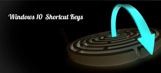 Windows 10 Shortcuts Keys