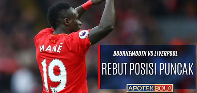 Prediksi Pertandingan Bournemouth vs Liverpool 4 Desember 2016