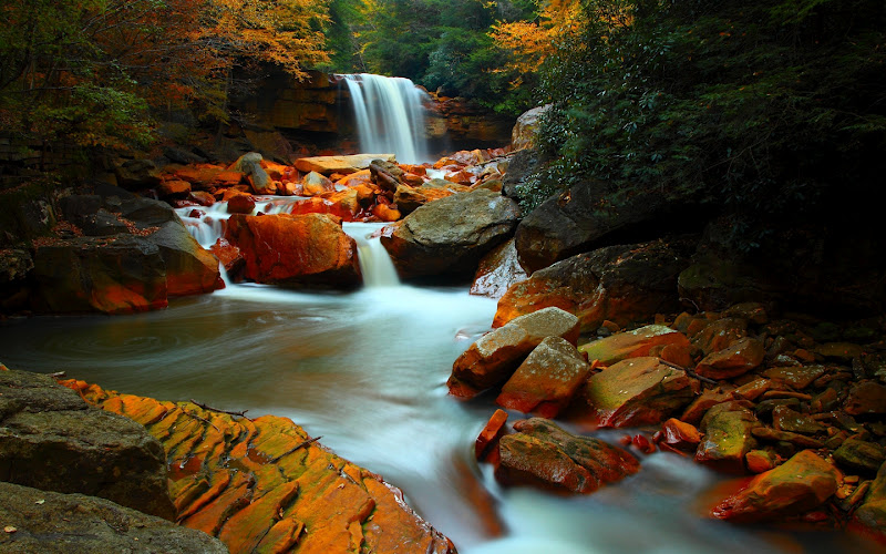 Fall Smoky Mountains Wallpaper Las Cascadas De Agua M 225 S Bellas Del Mundo Muy Inspirador