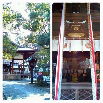 上御霊神社の初詣