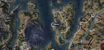 Far Cry 5: Shrines Locations, Eastern Shore