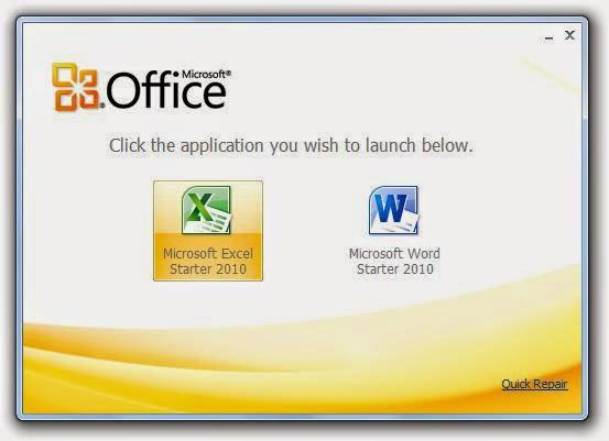 Δωρεάν Microsoft Office 2010 (starter)