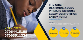 COAPSEC Primary Schools Essay Competition Guidelines - 2018 (Maiden Edition)