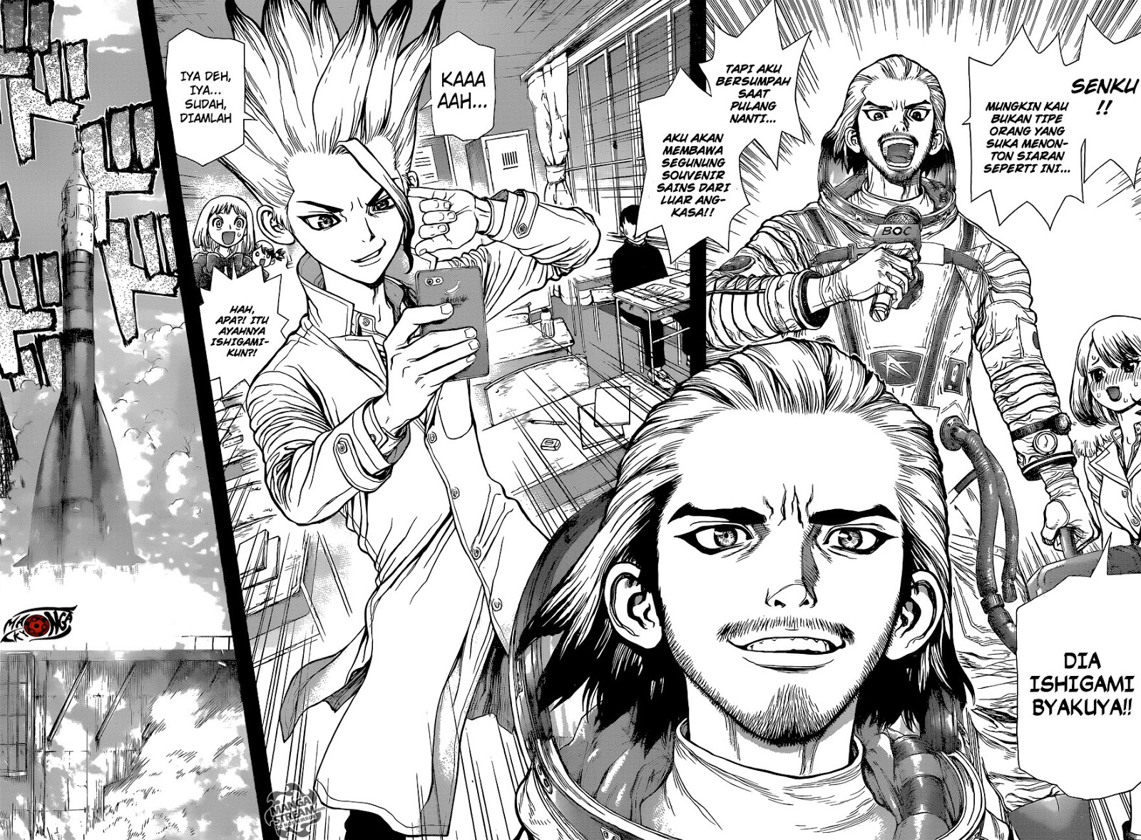 Dr Stone Chapter 42-17