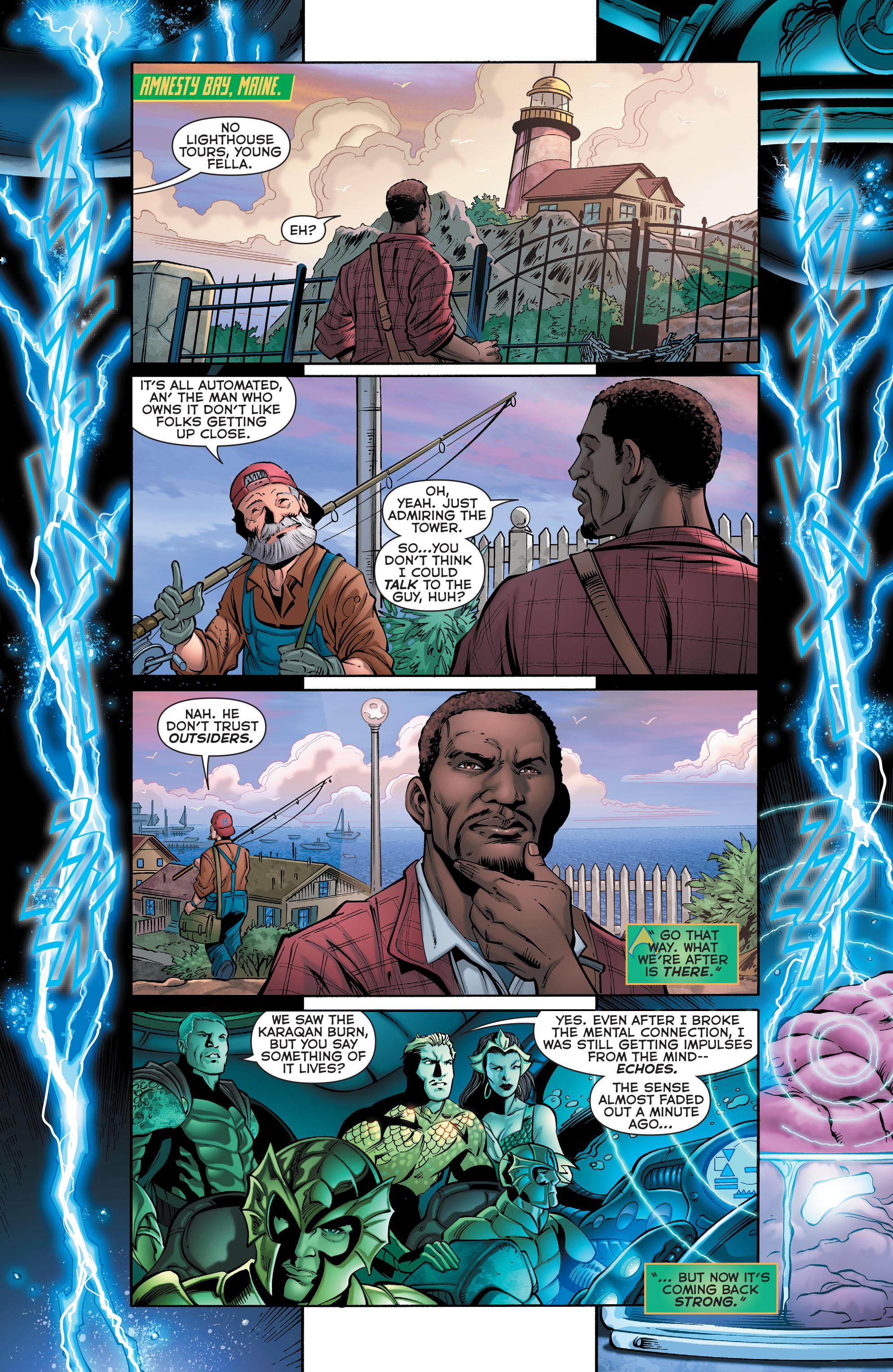 Read online Aquaman (2011) comic -  Issue #28 - 2
