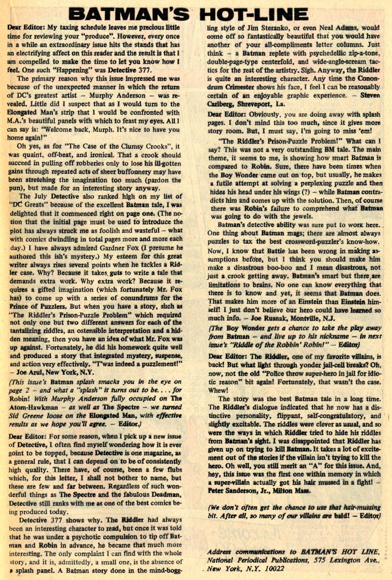 Detective Comics (1937) 381 Page 20