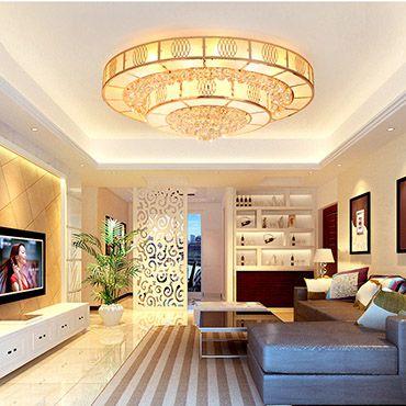 Kiểu đèn trang trí phòng khách chung cư giúp không gian thêm sang trọng đẳng cấp