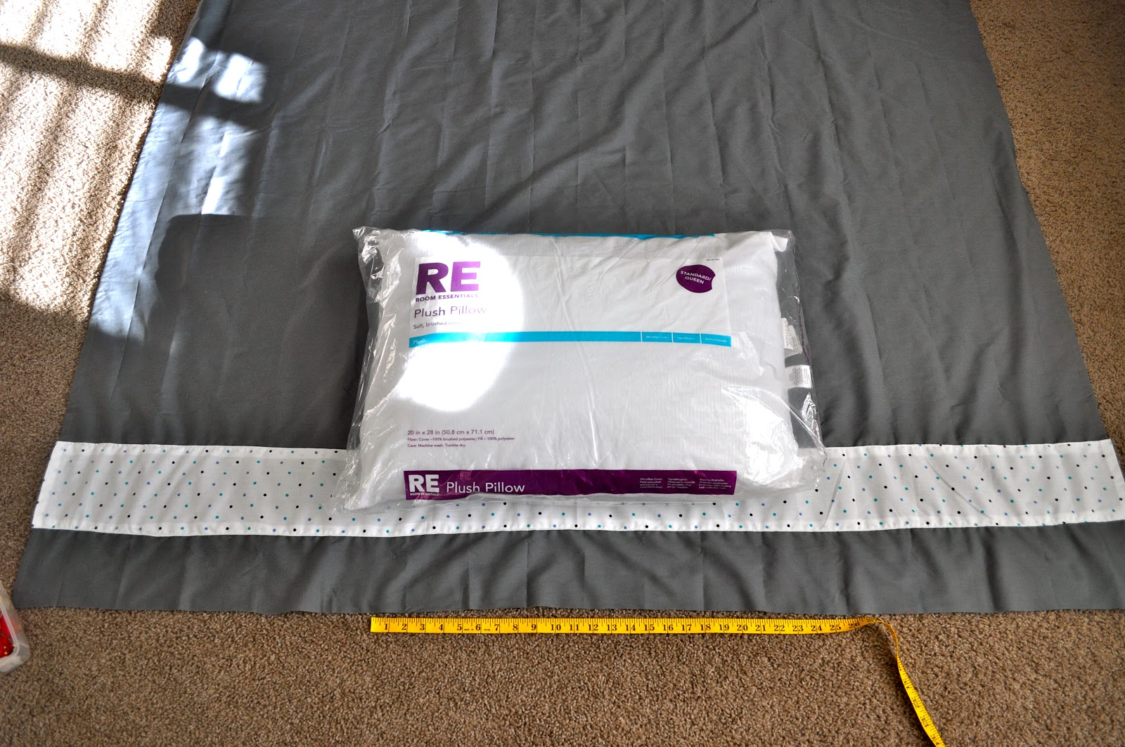seeshellspace Pillow Bed Tutorial