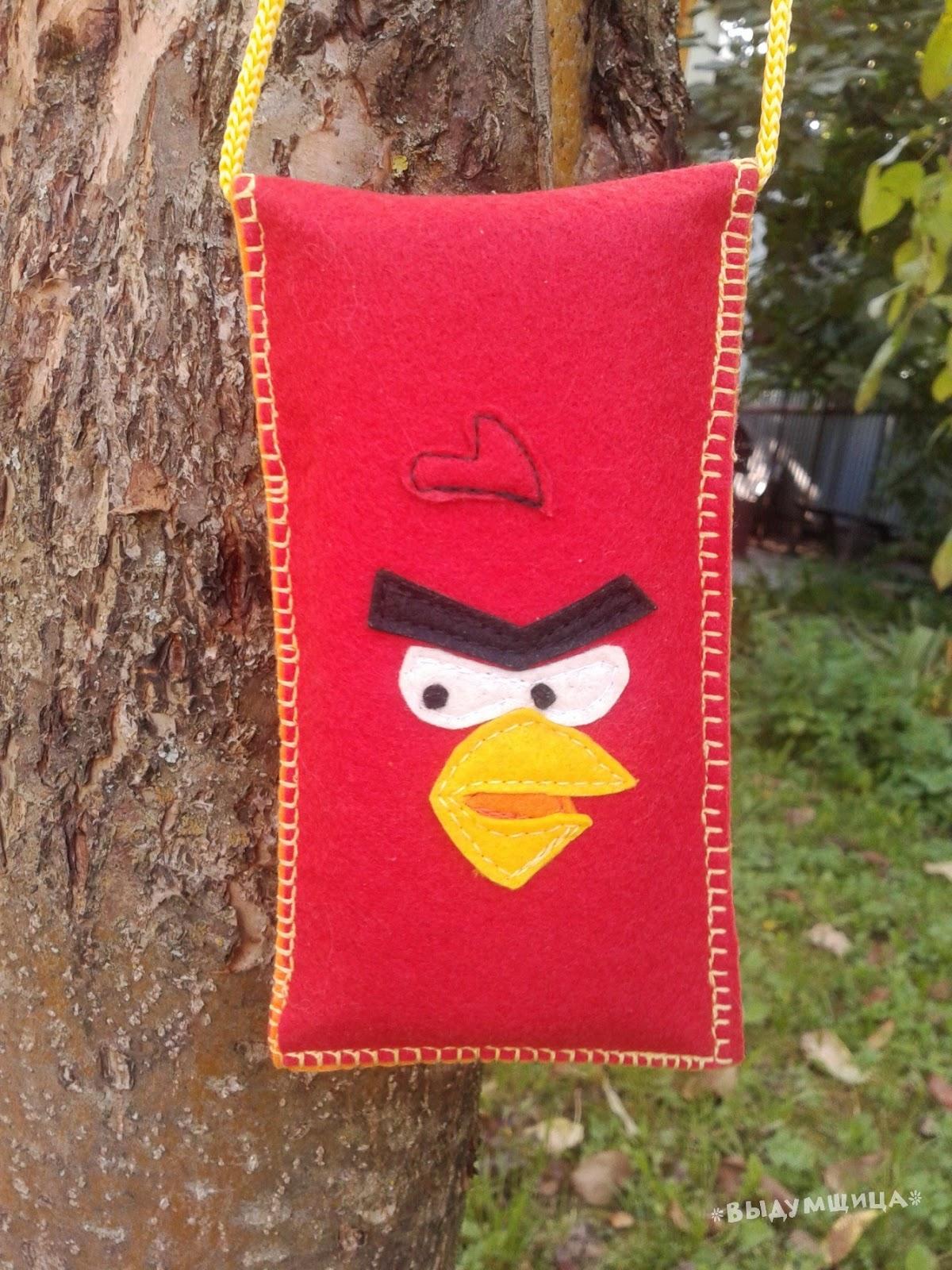 чехол для телефона angry birds