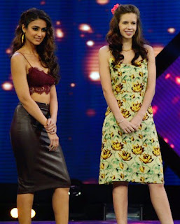 Saif Ali Khan, Ileana and Kalki promote Happy Ending on India's RAW Star