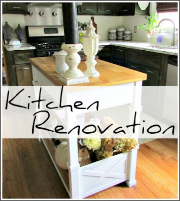 Kitchen renovation on a budget using the existing cabinetry