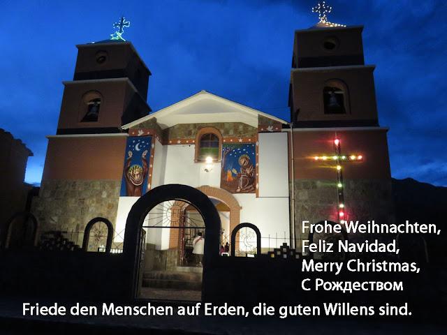 Euch ein frohes gesegnetes Weihnachtsfest