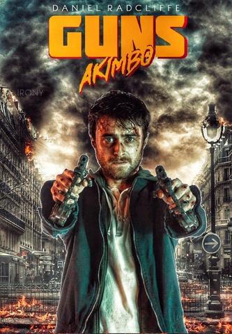 Guns Akimbo 2020 [Hindi Subbed] 300MB HDRIP