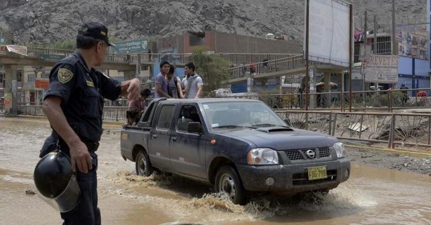 Lluvias moderadas a fuertes afectarán desde esta tarde a 17 regiones de la sierra, informó el SENAMHI - www.senamhi.gob.pe