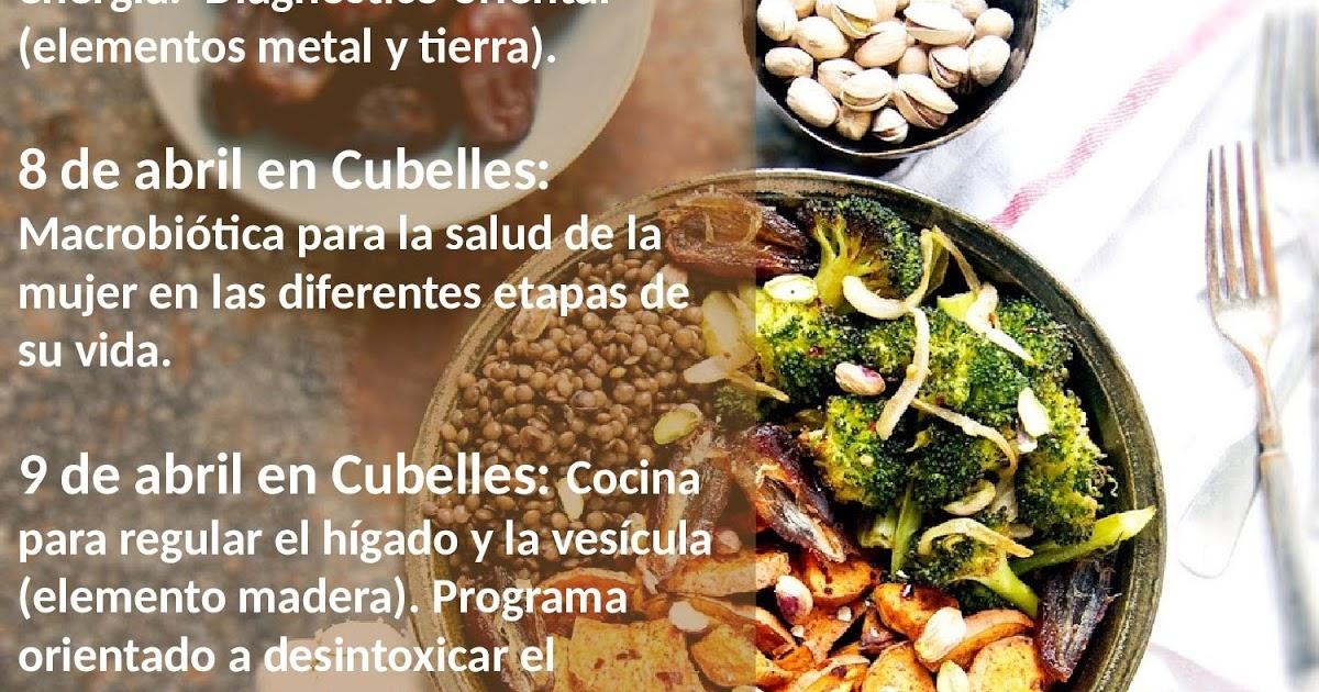 Nutrici n para la salud cursos macrobi tica en alicante y for Cursos de cocina en alicante