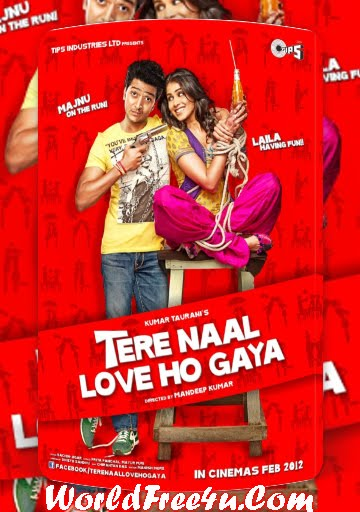 Poster Of Tere Naal Love Ho Gaya (2012) Full Theatrical Trailer Free Download Watch Online At worldfree4u.com
