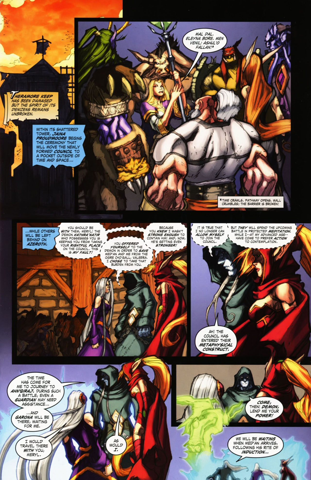 Read online World of Warcraft comic -  Issue #25 - 3