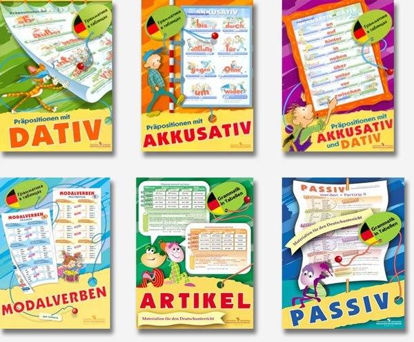 Alles zum deutschlernen for Dativ akkusativ prapositionen ubungen
