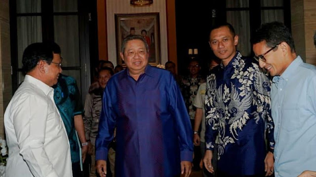 Pekan Depan, SBY dan AHY Mulai Keliling Kampanye Prabowo-Sandi