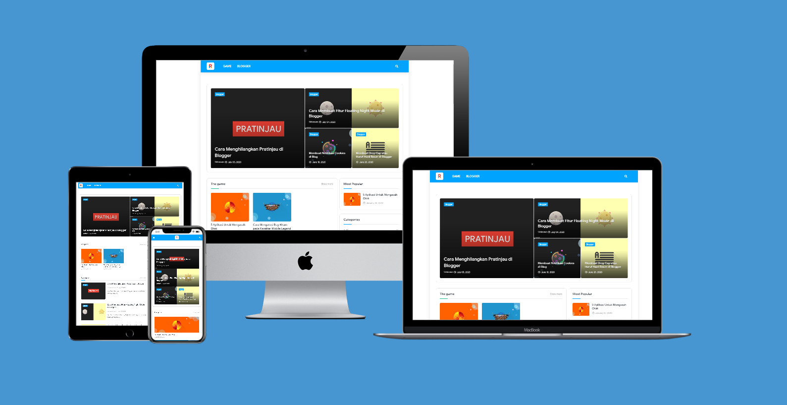 [ Released ] Rendiansyah Clone Blogger Template
