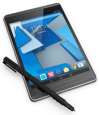 Spesifikasi HP Pro Slate 12     Tablet ini dibekali prosesor Quad core Cortex A15 berkecepatan 1,8 GHz serta dengan chipset Nvidia Tegra 4 T40 S dan kapasitas RAM 1 GB membuatnya cukup baik dalam multitasking.     Untuk sisi fotografi kualitasnya hampir sama dengan tablet lainnya. Kamera belakangnya sendiri dibekali 8 MP dengan beberapa fitur tambahan seperti auto focus dan LED flash sedangkan untuk kamera depannya sendiri hanya dibekali VGA.    Sayangnya tablet ini tidak mendukung SIM CARD tetapi sudah mendukung fitur lainnya seperti bloetooth dan wifi.   Kelebihan  -   Kekuarnagan  -    Spesifikasi