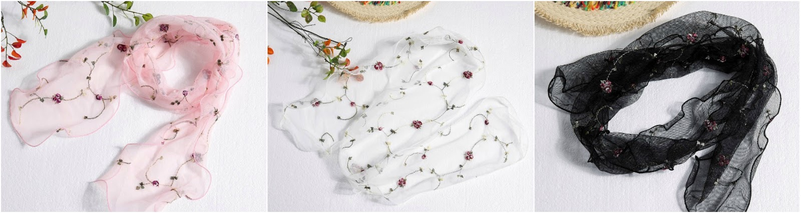 cute silk scarf