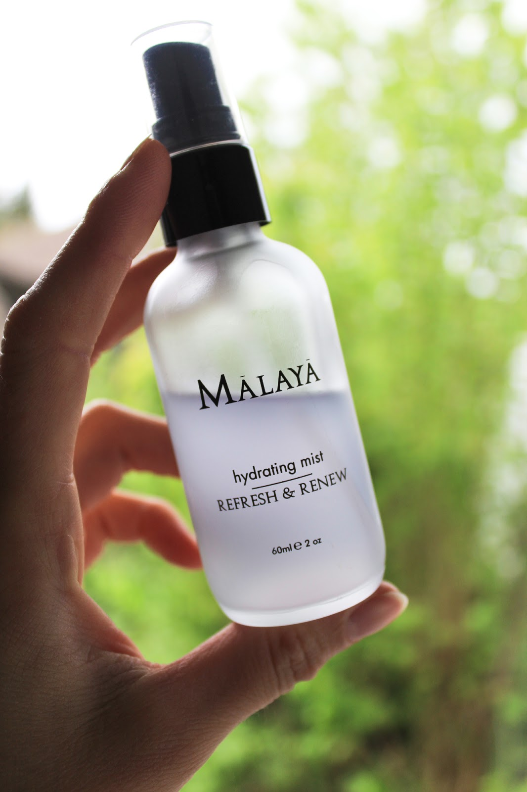 Malaya Organics Hydrating Mist Refresh and Renew